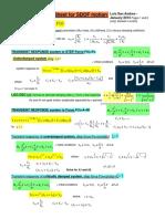 Formulas for Response 1DOF_system