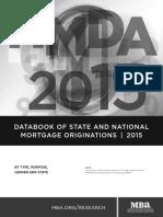 MBA Origination Report