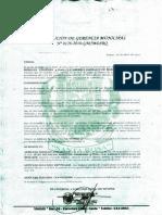 Inscripción Base de Datos Municipalidad