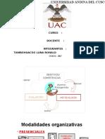 Panel, Foro, Presentacion