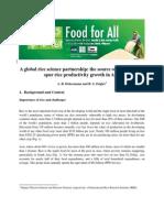 A global rice science partnership