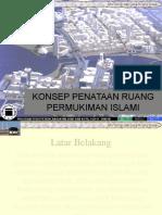 Konsep Penataan Ruang Permukiman Islami