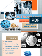 Outsourcing – connect & share