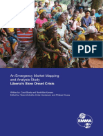 An Emergency Market Mapping and Analysis Study