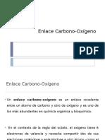 Enlace carbono-oxígeno