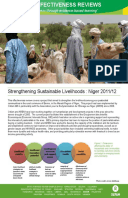 Effectiveness Review: Livestock Commercialisation for Pastoralist Communities in North Dakoro, Niger