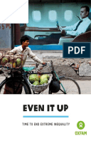 Even it Up: Time to end extreme inequality