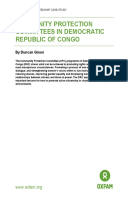 Community Protection Committees in Democratic Republic of Congo