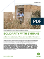 Solidarity With Syrians