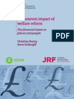 The Uneven Impact of Welfare Reform