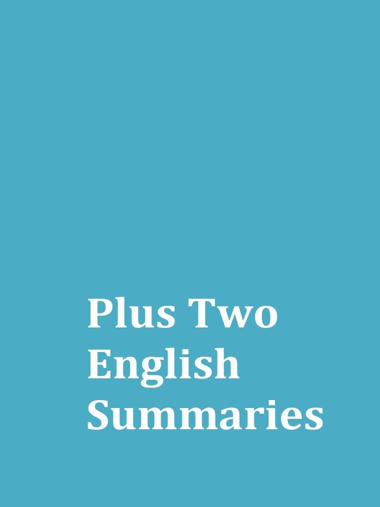 Plus Two Kerala Syllabus English Notes Summaries Substance Abuse