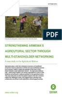 Strengthening Armenia's Agricultural Sector Through Multi-Stakeholder Networking: A case study on the Agricultural Alliance