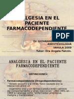 Analgesia en El Paciente Farmacodependiente Giovanne