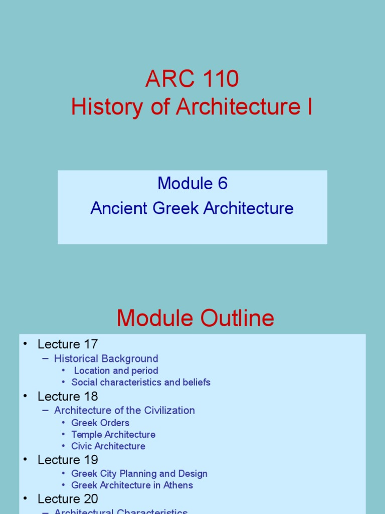 ancient greek architecture characteristics cyarthistory ancient