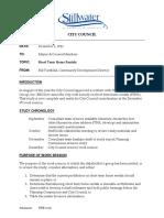 Stillwater Short Term Rental Documents