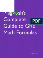 Magoosh - Maths Formulas