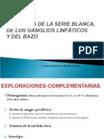 TEMA 2. PATOLOGÍA DE LA SERIE BLANCA, GANGLIOS Y BAZO
