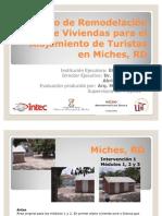 Proyecto de Remodelación de Viviendas para el Alojamiento