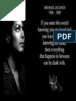 3375367 Michael Jackson Inspirational Quotes