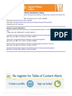 Graphene as Broadband Terahertz Antireflection Coating_apl_2014