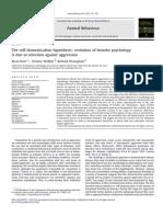 Self domestication hypothesis- bonobo case.pdf
