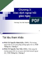 Chuong 3 Giao Dich Ngoai Hoi Giao Ngay Student