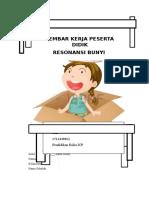LKPD Resonansi Bunyi, Fitri 1512440012, Pendidikan Fisika ICP