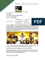 Dossier Pédagogique Astérix Mission Cléopâtre - Avant Le Visionnage