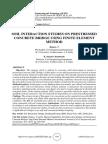 SOIL INTERACTION STUDIES ON PRESTRESSED CONCRETE BRIDGE USING FINITE ELEMENT METHOD