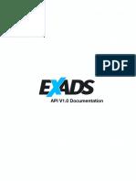 Exads API Overview