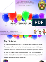 Psicoterapia Lúdica - Aguirre Ppt