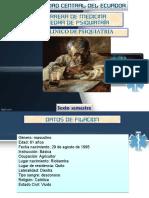 Paciente Cayetano Fin
