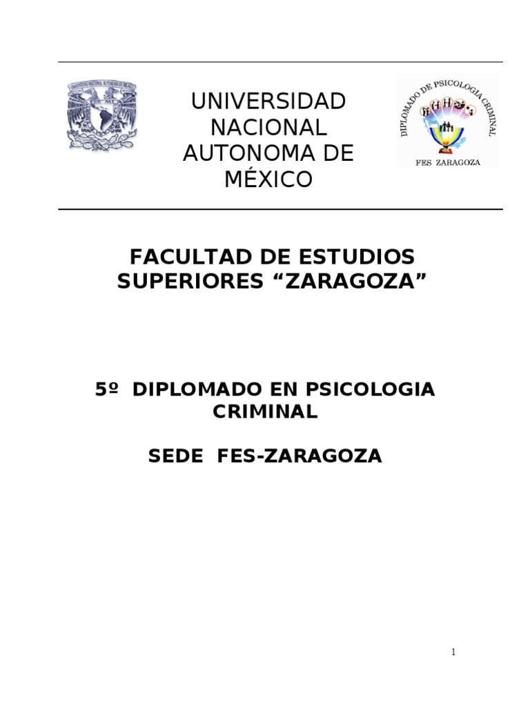 Unam - Medicina Legal