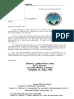 2. Ejemplo de Carta de Servicios Profesionales Auditoria III