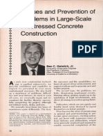 JL-82-May-June Causes and Prevention of Problems in Large-Scale Prestressed Concrete Construction