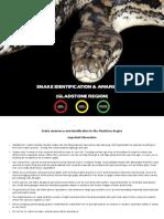 BTVS Snake Identification
