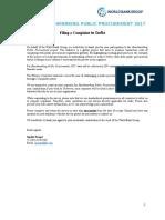 TII BPP17 IND Complaints En