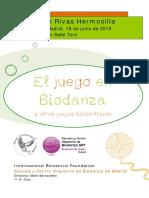 Monografia Sandra de Rivas El Juego en Biodanza