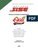 PROYECTO 2015 - QALI Natural Food´s CD