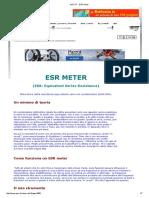 Grix Esr Meter