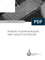 Analysis of Epidemiological Data Using R and Epicalc