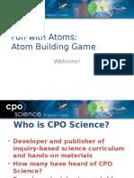 Atom Building Game