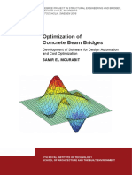 Optimization of Concrete Beam Bridges