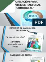 Formación Para Agentes de Pastoral Parroquial Original.