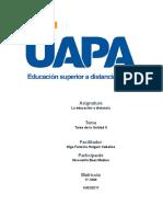 Educacion Distancia V