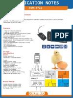Esm 3722 Application