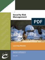 UNHCR - Security Risk Management