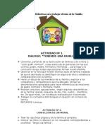 Actividades Didácticas Para Trabajar El Tema de La Familia