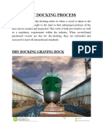 Dry Docking Process