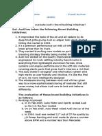 Audi Case Solution - Preeti Anchan B065.docx